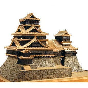 ウッディジョー 1/150 熊本城