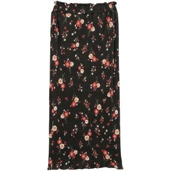 ミニスカート - MURUA ペンシル小花スカート