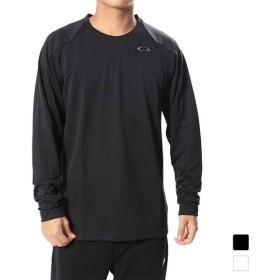 オークリー メンズ テニス 長袖Tシャツ ENHANCE LS CREW 8.7.02 (434249) OAKLEY 18clearance