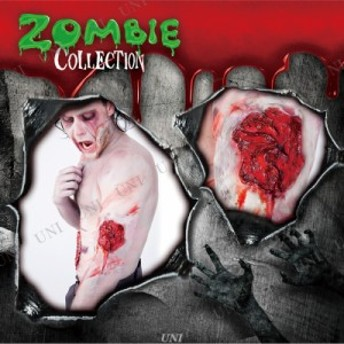 !! ZOMBIE COLLECTION FXSCAR Wound(傷) コスプレ 衣装 ハロウィン ゾンビ メイク ハロウィン 衣装 プチ仮装 変装グッズ パーティーグッ