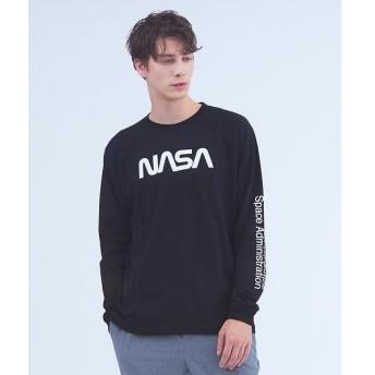 ABAHOUSE / アバハウス 【NASA】ワームロゴTシャツ