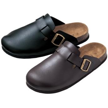 【格安-女性靴】レディース足裏形状インソールサボサンダル