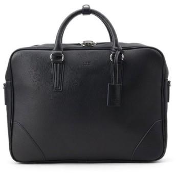 TAKEO KIKUCHI タケオキクチ A4収納 スプリットレザービジネスブリーフバッグ