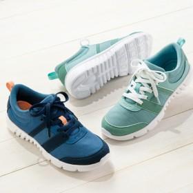 【格安-女性靴】レディース軽量低反発インソール軽量スニーカー