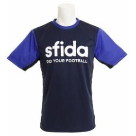 スフィーダ(SFIDA)プラクティスシャツ XA-18S01 NVY/BLU (Men's)