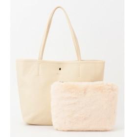 any SiS / エニィスィス 【ポーチ付】ファーポーチセット トートバッグ