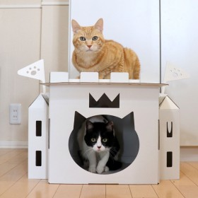 猫の城 CAT's CAsTle(ミルダンの爪とぎ付)