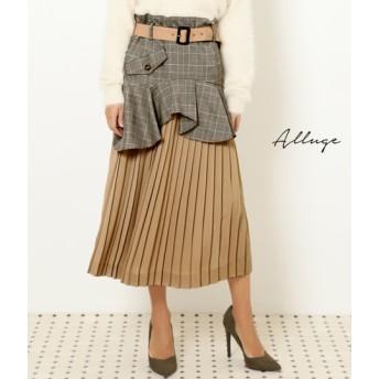 【セール開催中】ANAP(アナップ)グレンチェックマルチWAYスカート