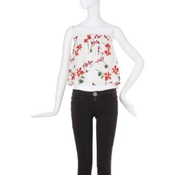 キャミソール - MURUA red flowerラッフルキャミソール
