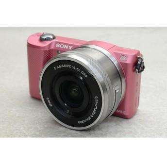 [中古] デジタル一眼カメラα5000 パワーズームレンズキット ピンク