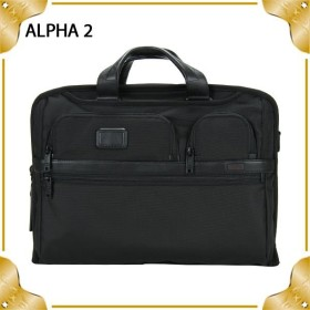 TUMI トゥミ ALPHA COMPACT LARGE SCREEN COMPUTER BRIEF ブリーフケース