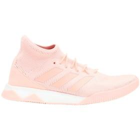 《セール開催中》ADIDAS メンズ スニーカー&テニスシューズ(ハイカット) ピンク 7 紡績繊維 / ゴム PREDATOR TANGO 18.1