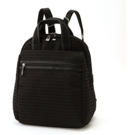 バッグ カバン 鞄 レディース リュック ドビー織り軽量リュック カラー 「ブラック」