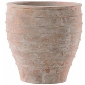 プランター 大型 植木鉢 テラコッタ 鉢 陶器鉢  おしゃれ アンティーク 風 円 メリッサアンティコ 大外径37×高さ37×底面直径22 深型 ガ