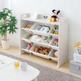 おもちゃ収納 収納 天板 トイハウスラック ミッキー ミニー キャラクター 人気 子供部屋 かわいい キッズ アイリスオーヤマ TKTHR-39 (252057)