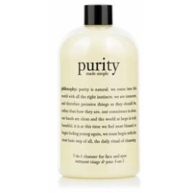 フィロソフィー ピュリティー メイド シンプル ワンステップ フェイシャル クレンザー 240ml PHILOSOPHY purity made simple one-step fa