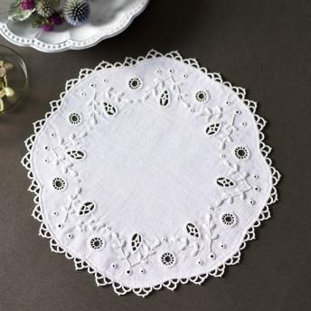 白糸刺しゅうのキット〈ドイリー・サークル〉