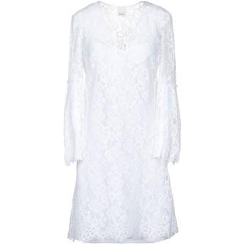 《9/20まで! 限定セール開催中》PINKO レディース ミニワンピース&ドレス ホワイト 40 コットン 98% / ナイロン 2%