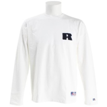 ラッセル(RUSSELL) 【オンライン限定特価】プロコットン 長袖Tシャツ RBM18F0001 WHT (Men's)