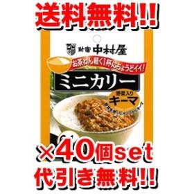 新宿中村屋ミニカリー野菜入りキーマ 90g [40個セット](1ケース) (レトルト食品/レトルトカレー)