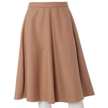 ef-de L / エフデ(エルサイズ) 《大きいサイズ》ビーズアクセント表起毛スカート