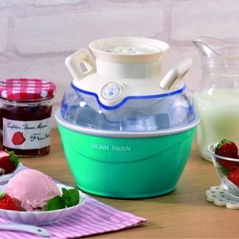 ホームスワン HOME SWAN アイスクリームメーカー SIC-25 H 新津興器
