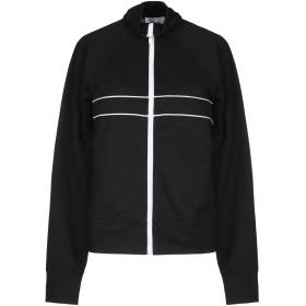 《期間限定セール中》DONDUP レディース スウェットシャツ ブラック XS レーヨン 74% / ポリエステル 20% / ナイロン 6%