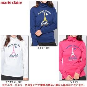 marie claire(マリクレール)インナーシャツ (737507)ゴルフ ウェア 長袖 ハイネック インナー カジュアル レディース