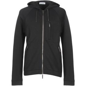 《期間限定セール開催中!》UMIT BENAN メンズ スウェットシャツ ブラック XS コットン 52% / ナイロン 48%