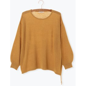 ニット・セーター - Samansa Mos2 ラーベン裾リボンプルオーバー