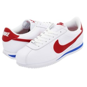 NIKE CORTEZ BASIC LEATHER OG ナイキ コルテッツ ベーシック レザー OG WHITE/VARSITY ROYAL/VARSITY RED