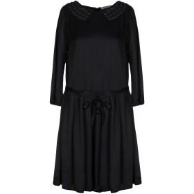 《セール開催中》L' AUTRE CHOSE レディース ミニワンピース&ドレス ブラック 42 レーヨン 100%