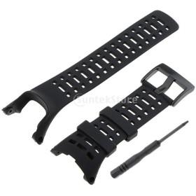 ウオッチ 専用バンド 腕時計 ストラップ 保護ベルト 軽量 耐久性 高品質 ブラック