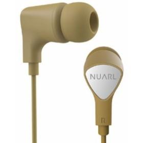 NUARL(ヌアール) NE1000YL カナル型ステレオイヤフォン スタンダードモデル イエロー