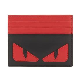 Fendi バッグバグズ カードケース - ブラック
