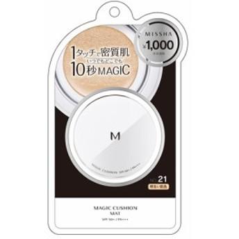 ミシャ Mクッション ファンデーション マット No.21 明るい肌色 15g