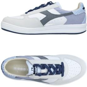 《9/20まで! 限定セール開催中》DIADORA HERITAGE メンズ スニーカー&テニスシューズ(ローカット) ホワイト 7 革 / 紡績繊維