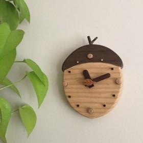 木製時計 どんぐり次郎