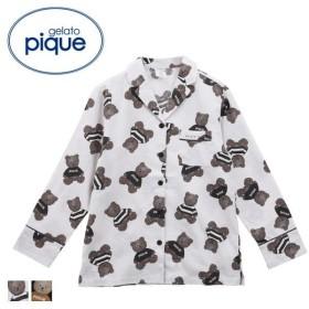 (ジェラートピケ)gelato pique レディース テディベアシャツ ジェラピケ パジャマ ルームウェア