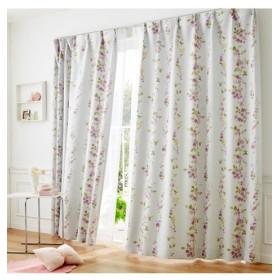【送料無料!】リーフ柄遮光カーテン ドレープカーテン(遮光あり・なし) Curtains, 窗, 窗簾