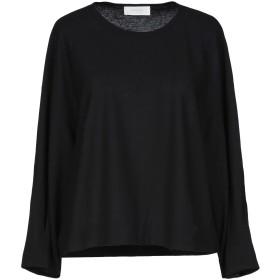 《期間限定セール開催中!》ZANONE レディース T シャツ ブラック S コットン 100%