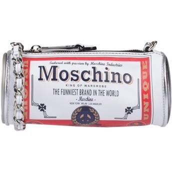 《9/20まで! 限定セール開催中》MOSCHINO レディース メッセンジャーバッグ ホワイト 革