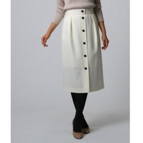 UNTITLED / アンタイトル フロントボタンナロースカート