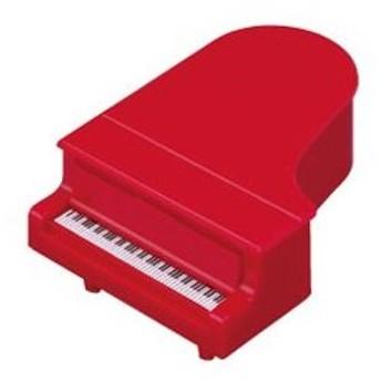 NAKANO/ナカノ コンサートピアノ型鉛筆削り レッド PS-35PI/RE