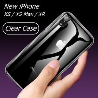 iPhoneケース ハイブリットケース iPhoneXR iPhone XS Max TPU ハード 透明 衝撃吸収