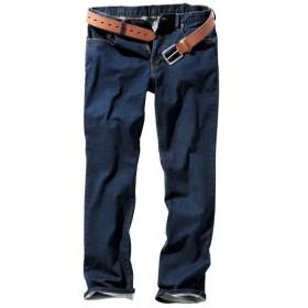 ストレッチ5ポケットジーンズ(股下70cm) ストレートジーンズ(デニム)
