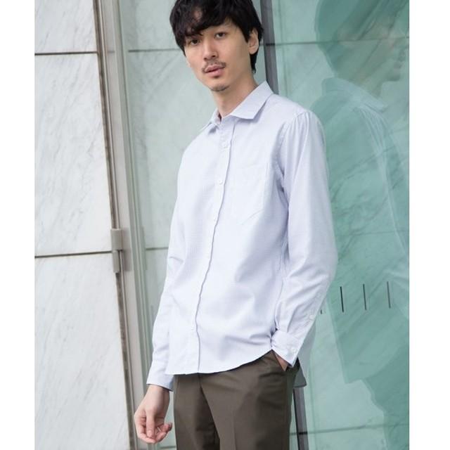 TAKEO KIKUCHI / タケオキクチ 刺し子ドットシャツ [ メンズ トップス シャツ ドット スタンダード ]