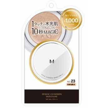 ミシャ Мクッション ファンデーション モイスチャータイプ No.23 自然な肌色 15g