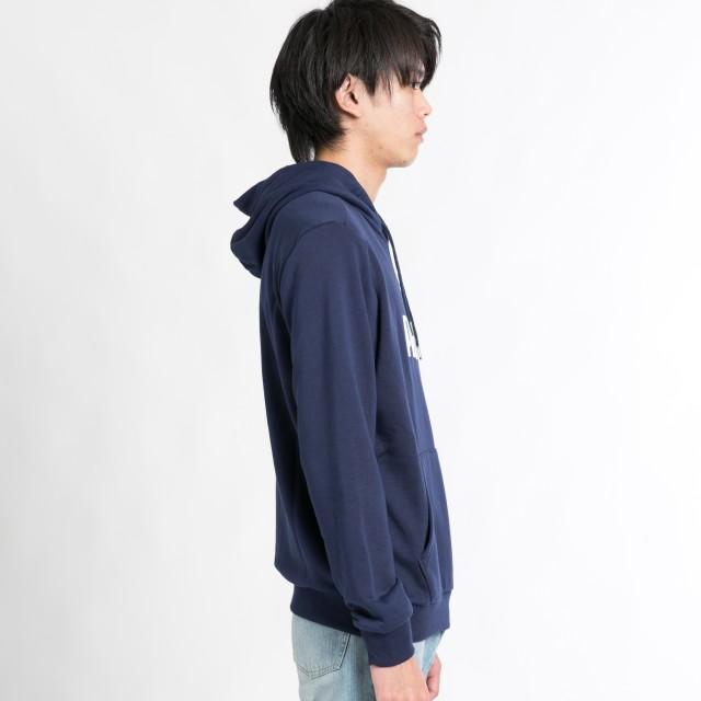パーカー - WEGO【MEN】 PUMA ロゴフーディー MT18AU07-M001