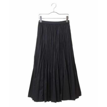 HIROKO BIS / ヒロコビス 【洗える】ポリエステルタフタプリーツスカート